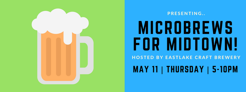 Save the Date: Microbrews for Midtown FUNdraiser May11