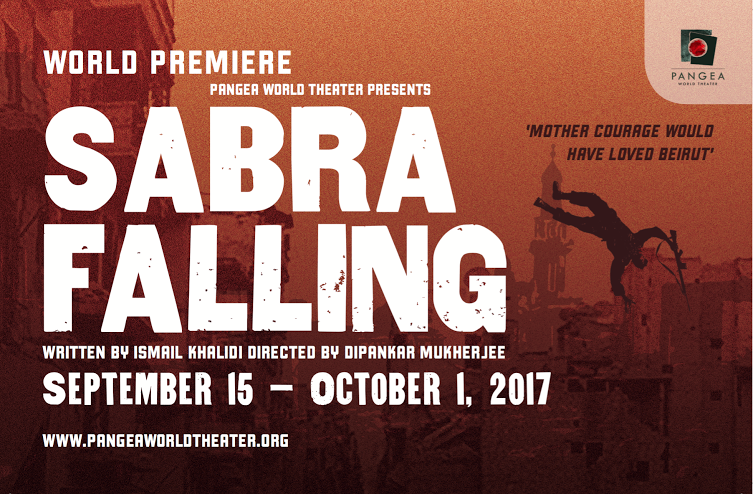 Sabra Falling at Pangea WorldTheater