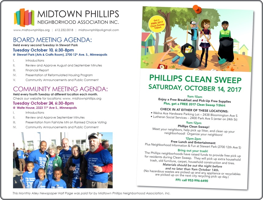 Join MPNAI for our October Meetings!