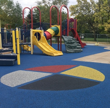 Cedar Avenue Field Park Re-Opens with New Playground Surfacing
