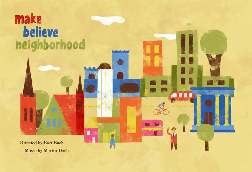 Heart of the Beast Puppet and Mask Theatre Presents: 'Make Believe Neighborhood'